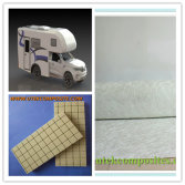 Fiberglass And PVC Foam Core Used For Making Camper
