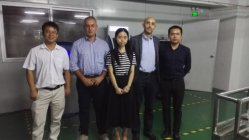19th Oct.2016 Italy customer visit our factory