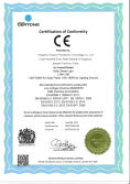 CE Certificate of solar street light