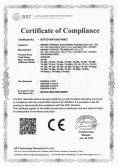 CE Certificate of soldering iron