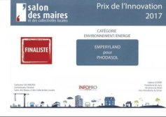 Smart solar Roadway got Invention Award in France