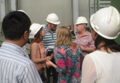Russia OVF company visited OULI