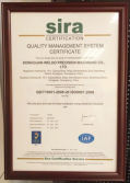 Quality Management Certification ISO 9001:2008