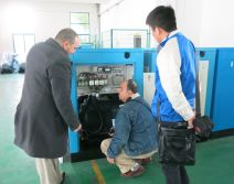 Customers are looking at intelligent control of DENAIR air compressor