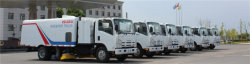 ISUZU 6CBM road sweeper to Philippines