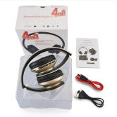 4 in 1 foldable Bluetooth stereo headset with TF Card, FM radio function