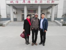 Sudan customer visitd Hebei Huaqi Special Purpose Vehicle Manufacturing Co.,Ltd