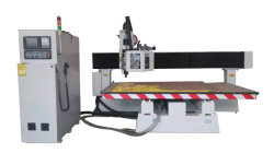 Automatic 3D Wood Carving CNC Router for Sale M25 with Ce Certificate
