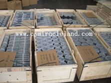 The plywood case packages of diamond core bits casing shoe & reaming shells for sea shipment