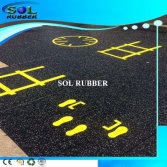Speical Pattern Premium quality Gym Floor Rubber Mat