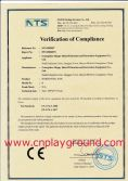 Outdoor Fitness CE Certificate