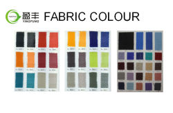 colour card for mesh and fabric