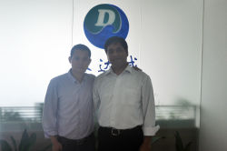 Pakistani partner visited Shine Dew