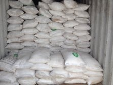 container loading of 50KG bags ammonium sulphate