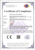 CE LVD Certification of S