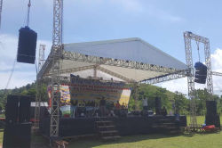 Sanway KUDO Line Array Project in Indonesia 2018
