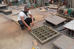 Zig zag molds for Uganda customer