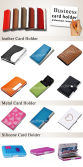 Promotional Gift Customized Logo All Kinds of Business Card Holder