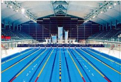 Swimming Gymnasium in Foshan Century Lotus Sports Center