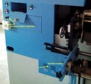 high-end shuttle quilting machine - tension motor