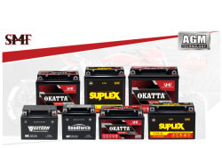AGM SMF Motorycle Battery Series