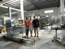 Spain customers in our factory