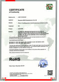 RoHS Certificate of led strip