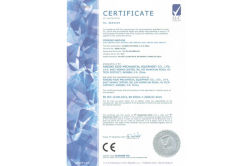 CE certificate for stator winding machine