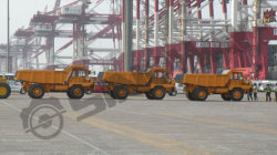 Four Rigid Dump Truck SWORT200R to Africa