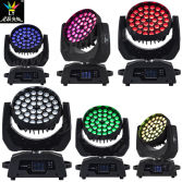 36X18W RGBWA+UV 6in1 Wash Zoom Beam LED Moving Head Light