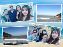 We went to Dongtou Xiandieyan