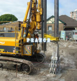 Diaphragm Wall Cutting Teeth at Site