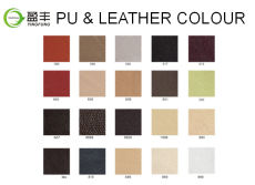 colour card for PU and leather