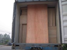 plywood loose packing loading