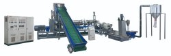 Double stage granulating machine
