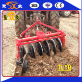 1LYQ driven disc plough testing