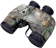Military 10X50 Camo Binoculars Waterproof Telescope with Rangefinder Compass Reticle
