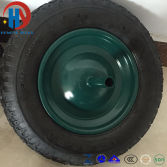 4.00-8 Rubber Wheel Tyre for Wheel Barrow/Hand Trolley/Tool Cart