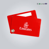 Custom Shaped Plastic Die Cut PVC Card with Perforation