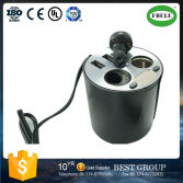car accessories 12V Car Cigarette Lighter Socket with 2.1A USB Charging Port