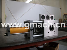 Plate type continuous screen changer