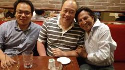 2015 YEAR Winter we visit Peru president Alejandro Toledo