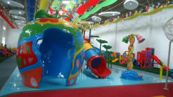 water playground in our showroom