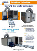 Gas Powder Curing Oven