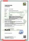 RoHS Certificate of led module