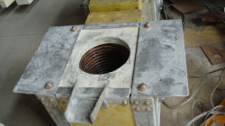 50kg Capacity Induction Furnace on Board to Croatia