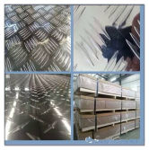 Aluminium Checked Sheet,Five Bars Aluminum Plate