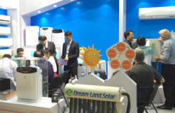 Solar Assisted Air Conditioner on Show