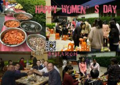 JINYING Family BBQ-Happy Women′s Day!