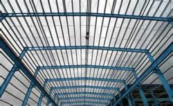 low cost and easy to install steel building construction